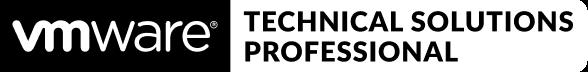 badge vmware technical sales professional