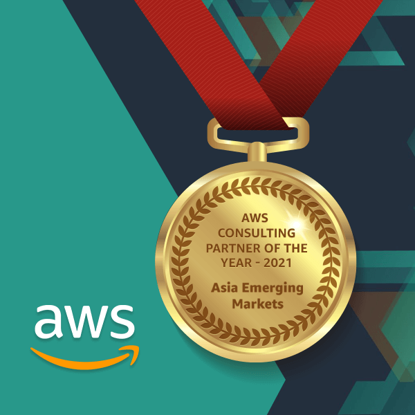 AWS Consulting Partner Award of the year 2021